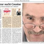Bremervörder Zeitung, 8. November 2007
