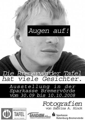 Plakat Augen auf (2008)