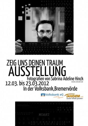Plakat Zeig uns Deinen Traum (2012)